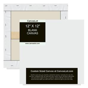 12x12 Blank Canvas