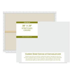 38x29 Blank Canvas