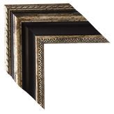 Gold Brown Canvas Frame
