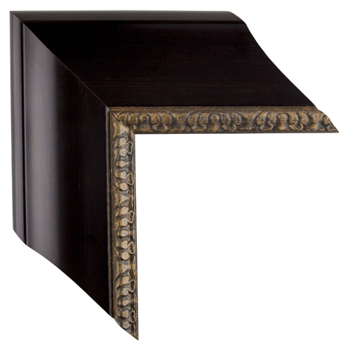 black brown open canvas frame 3 1 2 inch custom size available