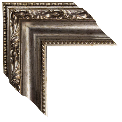 Gold Silver Open Canvas Frame 3 3/4 Inch. Custom Size Available ...