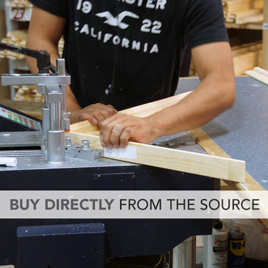 Buy Directly From The Source
