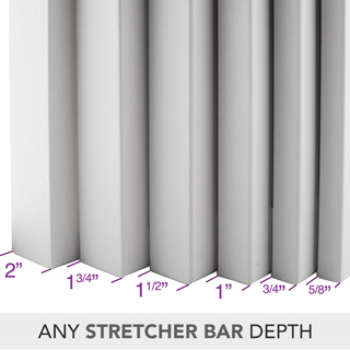 Any Stretcher Bar Depth