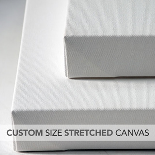 Custom Size Stretched Canvas